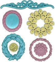 VINTAGE FRAMES - Jolee's Boutique PARCEL - Dimensional Scrapbook Sticker SALE