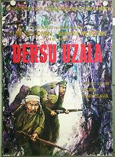 RU02 DERSU UZALA AKIRA KUROSAWA ORIGINAL RUSSIAN c/o POSTER spanish language