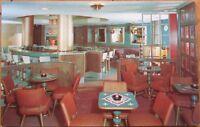 1950 AD Chrome: Persian Hotel Bar Interior-Rockford, IL