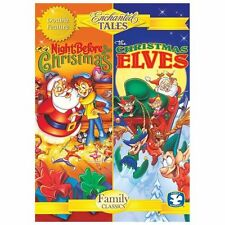 Enchanted Tales: The Night Before Christmas/The Christmas Elves (DVD, 2013)