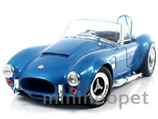 COLLECTIBLES 125 1965 SHELBY COBRA 427 SUPER SNAKE 1/18 DIECAST ALL BLUE
