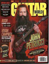 Guitar World March 2016 John Petrucci Rush Lamb Of God Free & Fast SnH Best Deal