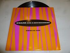 """KWAME & A NEW BEGINNING - Ownlee Eue - 1991 UK 4-track 12"""" Vinyl single"""