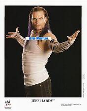 WWE PROMO JEFF HARDY WRESTLING 8x10 PHOTO P-1137