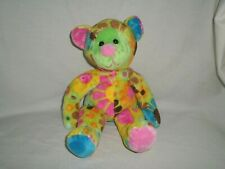 "Douglas The Cuddle Toy Flower Bear Plush Multi-Color 11"" Stuffed Animal"