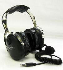 SL-900H SkyLite Aviation Helicopter Pilot Headset with Gel & U174 Plug +free Bag