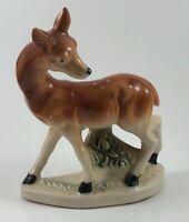 """Vintage Baby Deer Fawn Figurine Ceramic Made In Japan 5"""""""