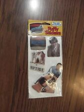 1984 Riptide Television Show Puffy Sticker MIP Joe Penny Perry King