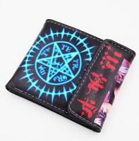 New Anime Black Butler Short Leather Wallet Purse Cool Gift $32