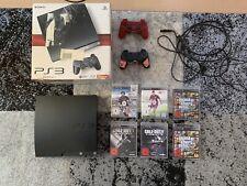 Sony PlayStation 3 Slim 120GB + 2 Controller + 6 Spiele