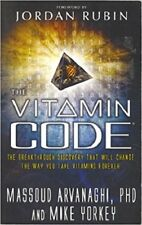 THE VITAMIN CODE, Garden of Life Paperback 2008 1st Edition, New
