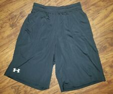 Under Armour Mens Size Small Black Shorts