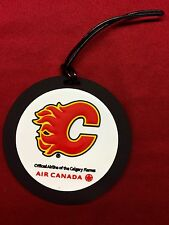 Calgary Flames Team Issue Travel Luggage/Baggage Tags.