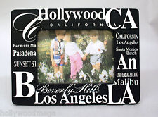 Black California famous places picture frame- 3946