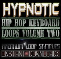HYPNOTIC PIANO,RHODES,SOUNDS WAV LOOP SAMPLES V.2 Hip Hop Akai Reason Fl Studio