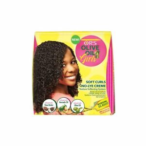 ORS Olive Oil Girls Soft Curls Texture Softening System