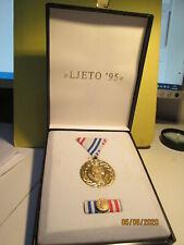 Croatia Medal Operation LJETO 95         SUMMER 95