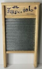 Vintage Imperial Washboard Wood Monterrey Home Decor Musical Instrument Laundry