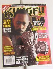 Kung Fu Tai Chi Magazine Nov/Dec 2012 Martial Arts Shaolin