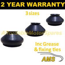 Universal Ball Joint Track Rod End Gomma Coperchio Antipolvere Kit + GRASSO si adatta a tutte le auto