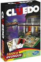 Cluedo gioca ovunque gioco di società hasbro