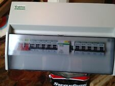 Crabtree Starbreaker Consumer Unit split load with RCD and 10 MCBs new condition