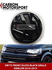 Nero Lucido VW Transporter T5 2006-2014 Calandra Anteriore Emblema Distintivo