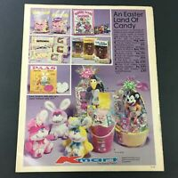 VTG Retro 1984 Paas Easter Land Of Candy Sales Circular Advertising Ads