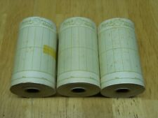 inches wide Nos Watch Master Time 3 WatchMaster Timing Machine Paper Rolls 3