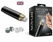 Revlon Shine Addict Nail Buffer And Polisher For Shiny Nails With 4 Rollers NEW