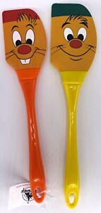 Disney Park Jaq Gus Cinderella Silicone Spatula Set of 2 Kitchen Cookware