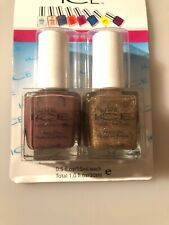 Lot of 2 bottles Pure Ice Nail Polish Studette & Absolutely Mauvelous  .5oz
