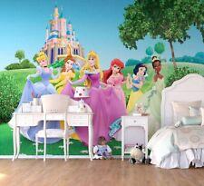 Disney wall mural wallpaper children's bedroom Disney Princess Castle PREMIUM