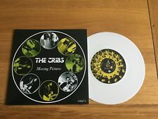 """The Cribs-Moving pictures.7"""" white vinyl"""