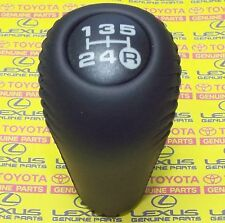 Genuine Toyota Prado 4Runner Hilux Surf 5Sp Manual Leather Gear Shift Lever Knob