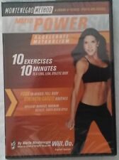 Montenegro Method MM10 Power Workout Video [DVD] NEW SEALED FREE SHIPPING