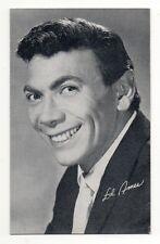 Ed Ames 1960's Bio Back Billboard Exhibit Arcade Card