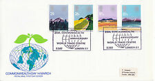 9 MARCH 1983 COMMONWEALTH DAY ROYAL MAIL FIRST DAY COVER WORLD TRADE CENTRE SHS