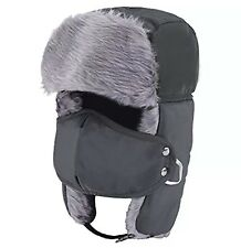 156a85db8dd Unisex Winter Trooper Trapper HaT Hunting Ushanka Ear Flap Chin Strap and  Mask