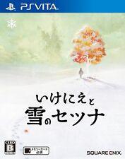 Used PSVita Setsuna of Snow and Sacrific(I Am Setsuna) Japan Import F/S