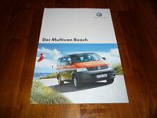 VW Multivan BEACH Prospekt 01/2006