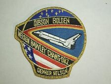NASA Space Shuttle Mission STS-61 C Astronauts Embroidered Iron On Patch