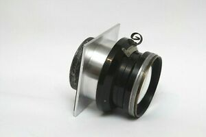 "Lens Board Aero Ektar 7"" 178mm f2.5 for Anniversary Speed Graphic with thread"