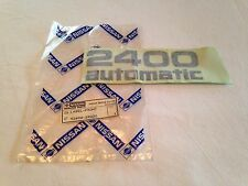 Nissan NOS 2400 Automatic Decal Sticker New Old Stock Datsun Genuine