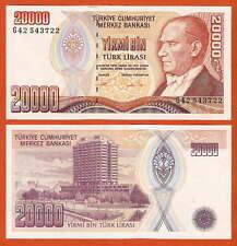 P202   Türkei  20.000  Lira   1984-02     UNC