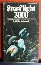 Starflight 3000 - by R W Mackelworth- 1972 Science Fiction Paperback- Ballantine