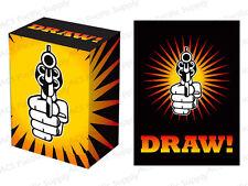 100 LEGION SUPPLIES DRAW DECK PROTECTORS w/ DECK BOX Lot MTG Sleeves