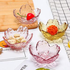 Pink glass cherry blossom dish seasoning dipping dish soy sauce dish Dishes BDA