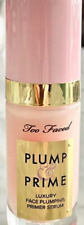 100% Authentic Too Faced Plump And Prime Face Plumping Serum  New In Box