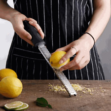 Stainless Steel Hand Cheese Grater Slicer Nutmeg Zester Lemon Citrus Microplane